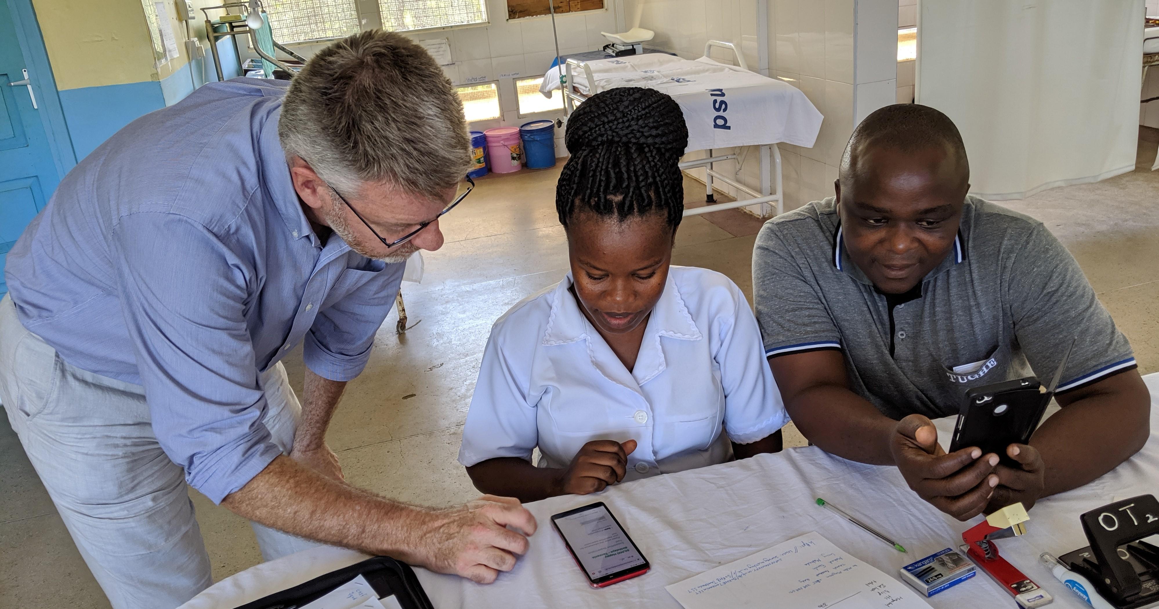 Rwanda in hospital